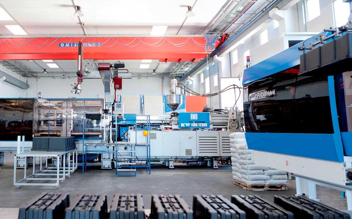 Производственный процесс DAKEN