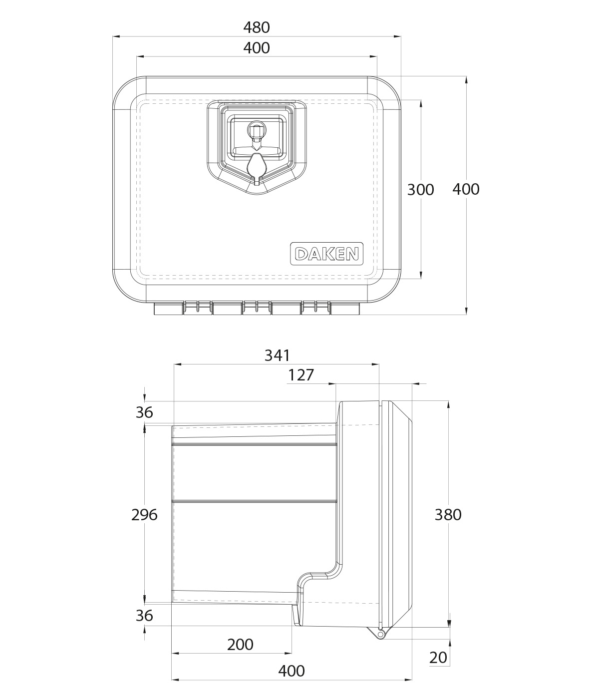 Daken Toolbox - 81002