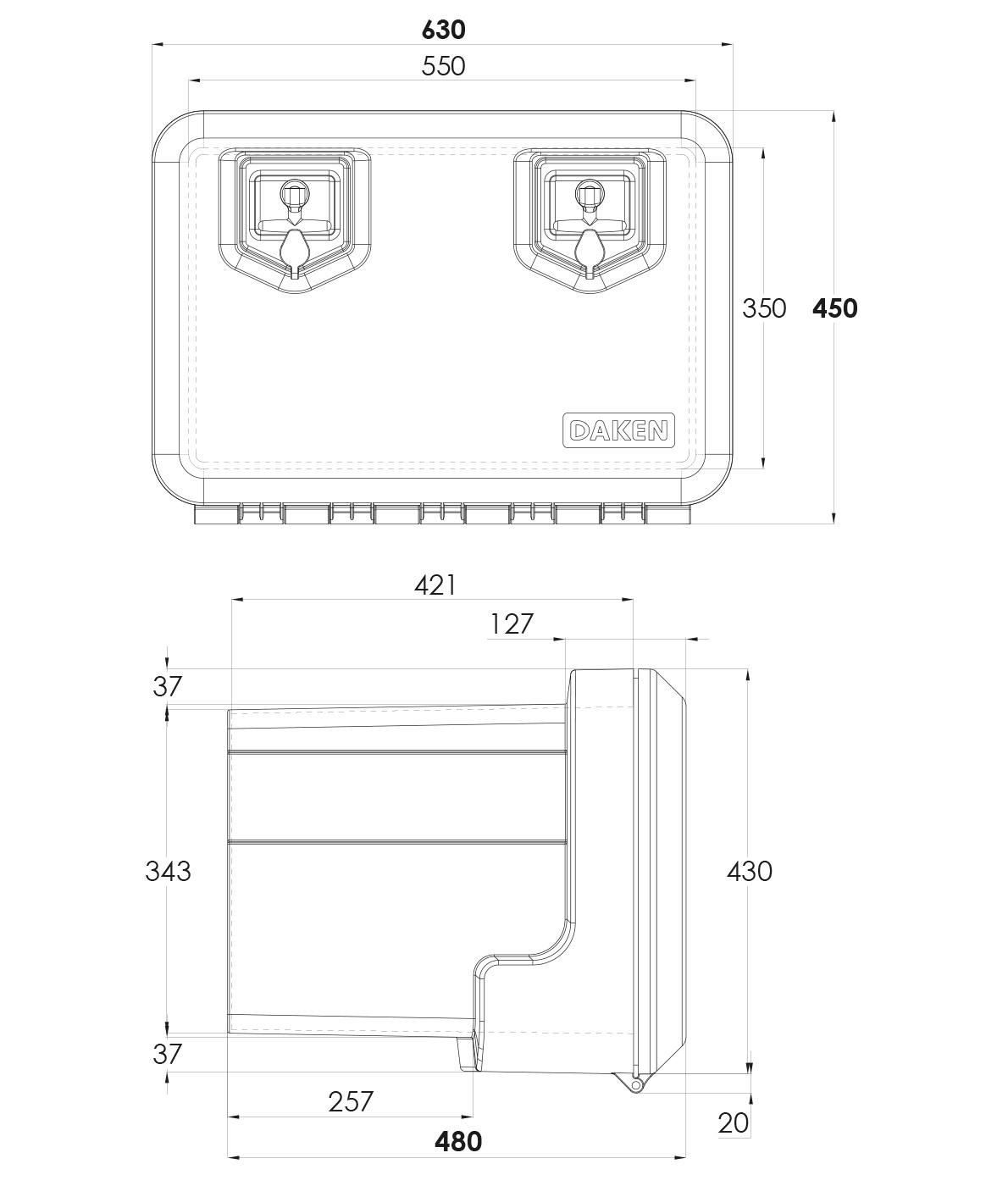 Daken Toolbox - 81004