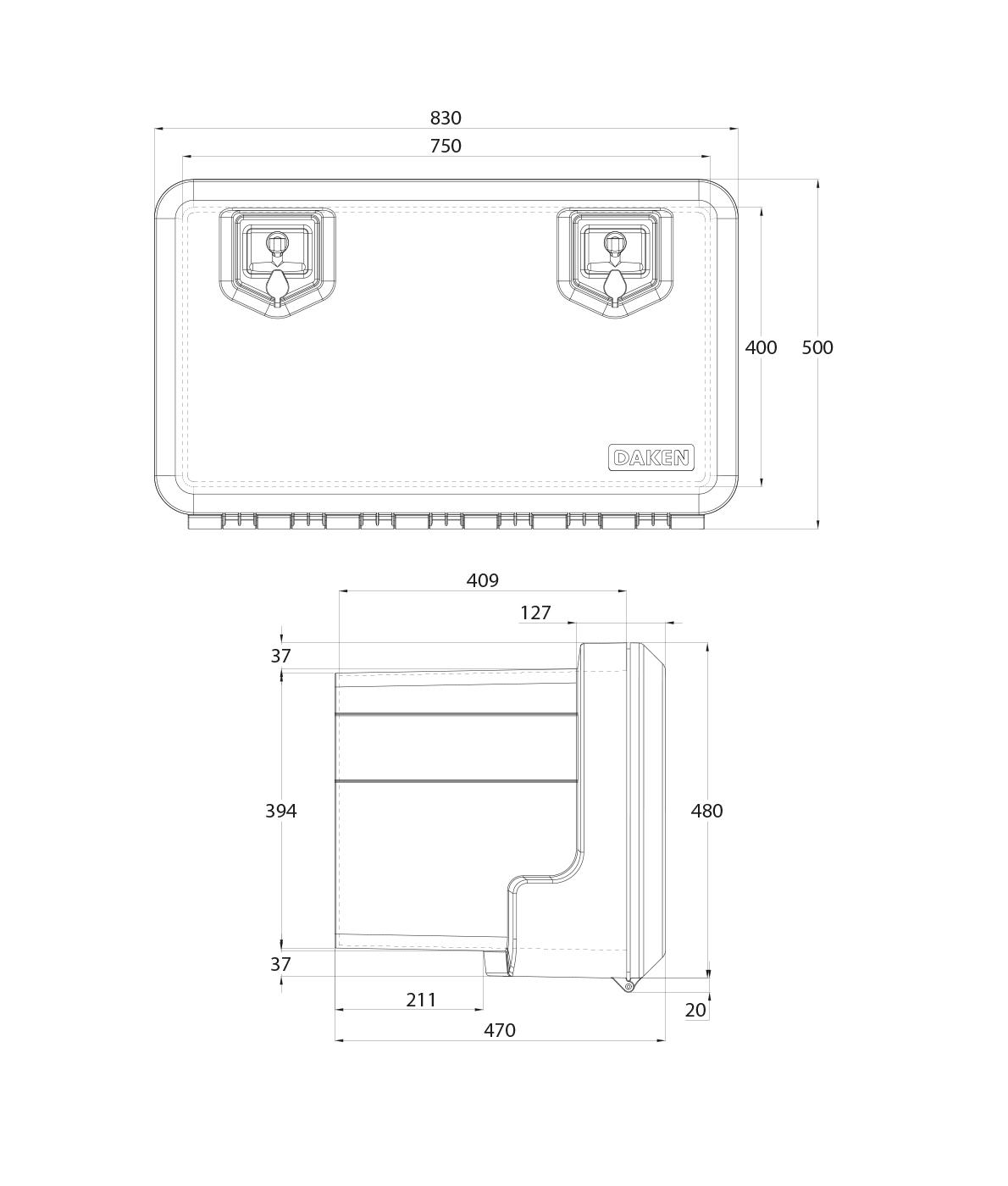 Daken Toolbox - 81006