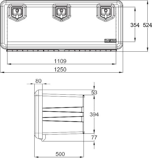 Daken Toolbox - 81009