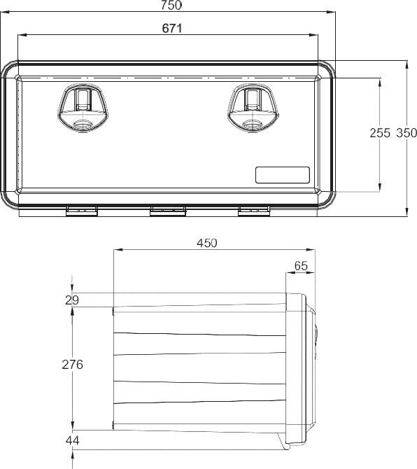Daken Toolbox - 81105