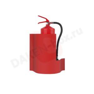 Настенная подставка под огнетушитель DAKEN WAVE 85211