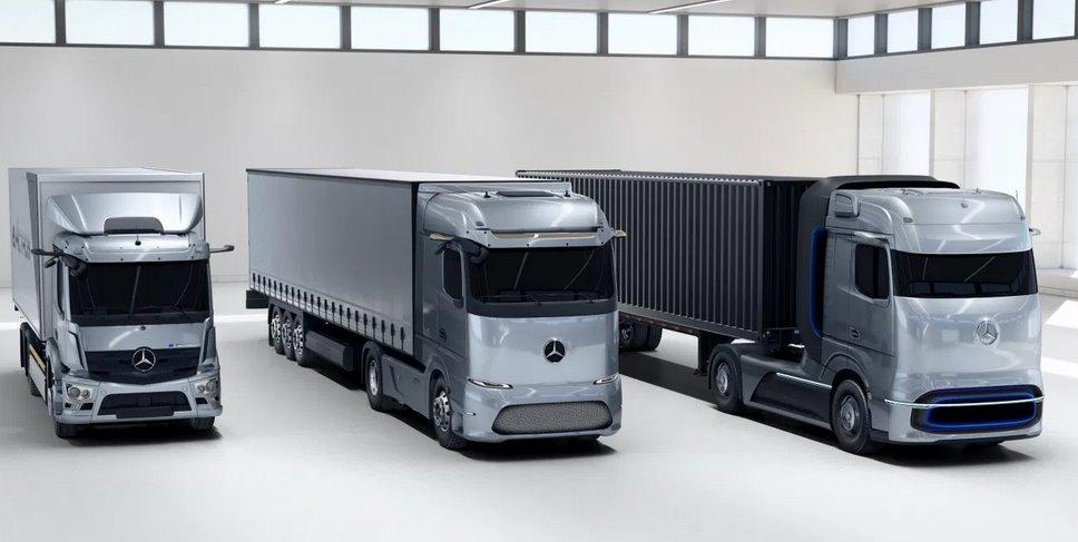 Электротягач eActros LongHaul от Daimler
