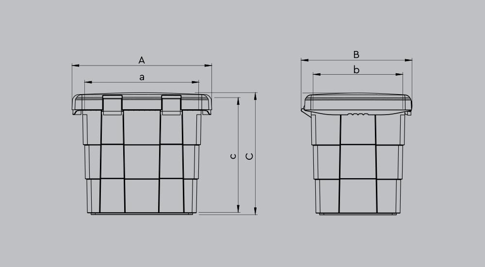 Контейнер для ликвидации разливов PITBOX