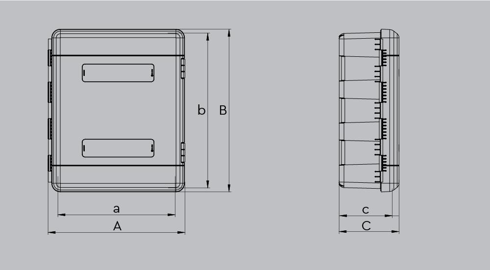 Шкаф для средства индивидуальной защиты DUAL 85110